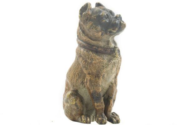 Bronce Vienes Figura Bulldog