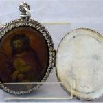 Relicario dos tapas Cristo