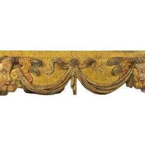 Tabla con cabezas de angeles S. XVI