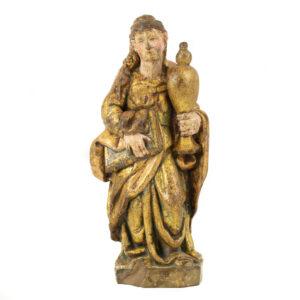 Talla madera María Magdalena S. XVII