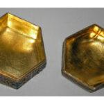 Caja hexagonal china interior